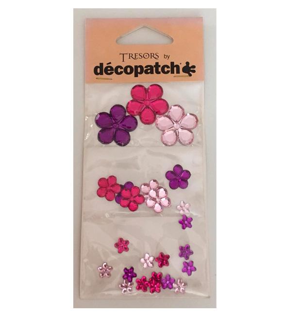 aplicativos de flores rosa