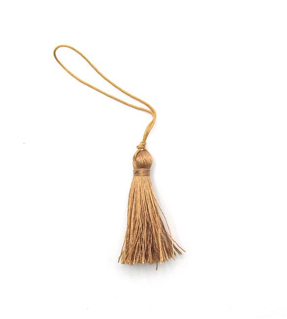 Franja / borla camel 5cm