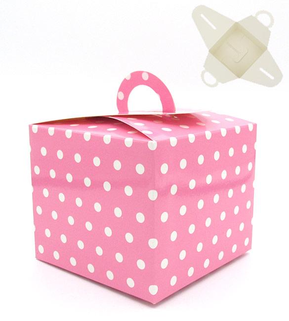 Caixa Presente Rosa