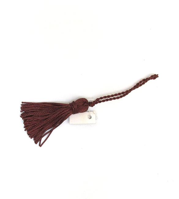 Franja / borla castanha 5cm