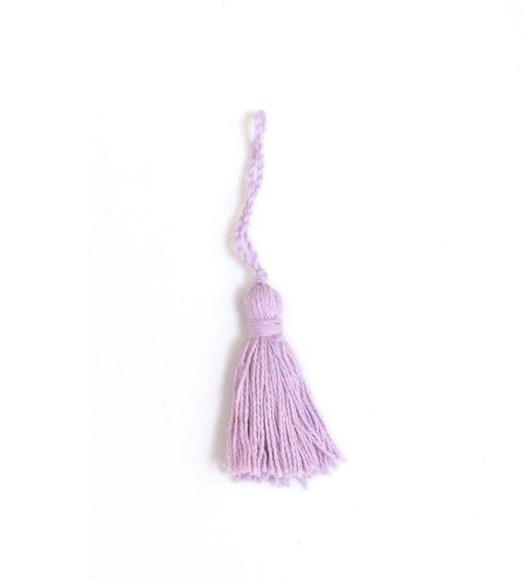 Franja / borla rosa claro 5cm