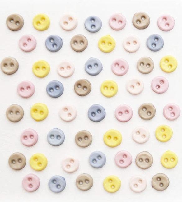 Botões pequenos coloridos 0.4mm
