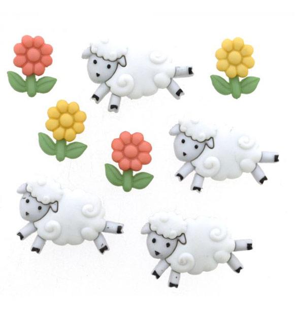 Botões Ovelhas