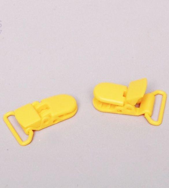 Mola para chupeta amarelo