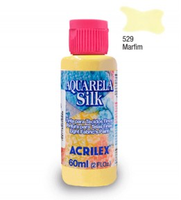 Aquarela Silk Acrilex 60ml Marfim 529