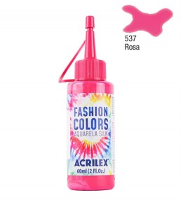 Aquarela Silk Acrilex 60ml Rosa 537
