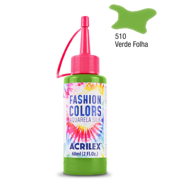 Aquarela Silk Acrilex 60ml Verde Folha 510