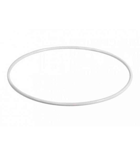 Aro Metálico Branco 10cm
