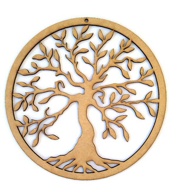 Aro Caça Sonhos Árvore da Vida 17cm