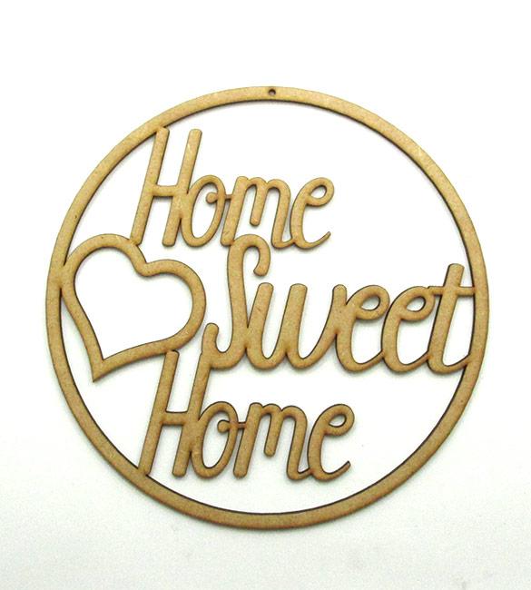 Aro caça sonhos Home Sweet Home