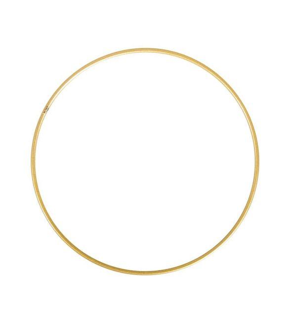 Aro Metálico Dourado 25cm