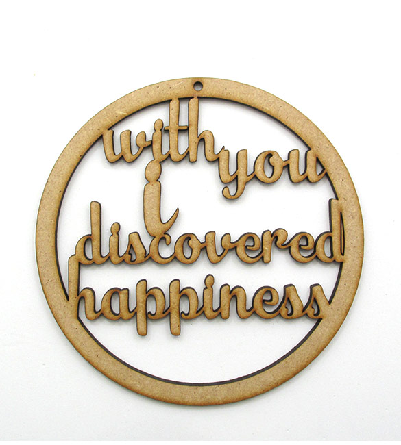 "Aro Caça Sonhos ""With You I Discovered Happiness"""