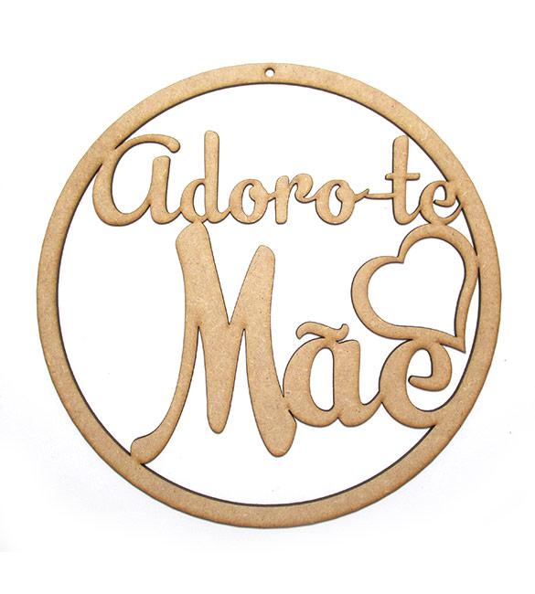Aro Adoro-te Mãe Ø22cm