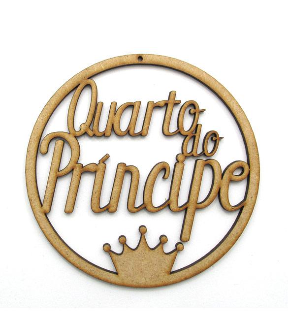 Aro em mdf Quarto do Príncipe