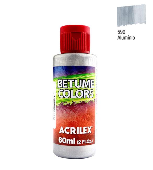 Betume Colors Acrilex Alumínio