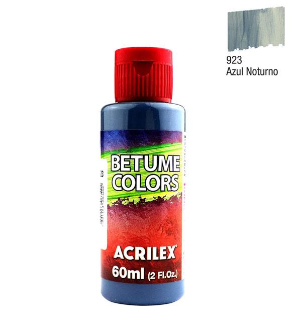 Betume Colors Acrilex Azul Noturno