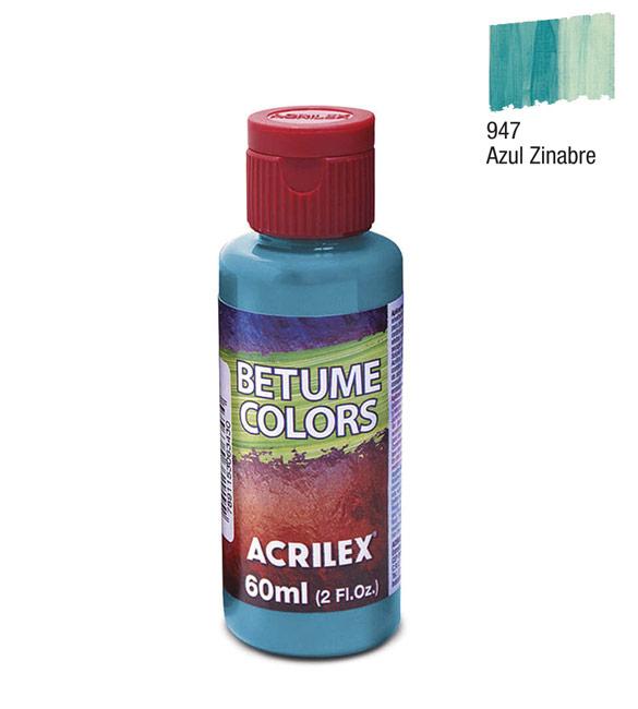 Betume Colors Acrilex Azul Zinabre