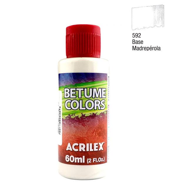 Betume Colors Acrilex Base Madrepérola