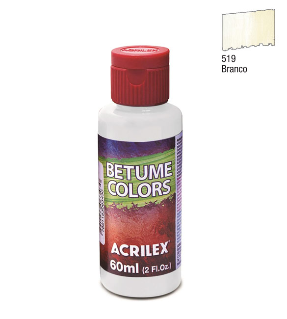 Betume Colors Acrilex Branco