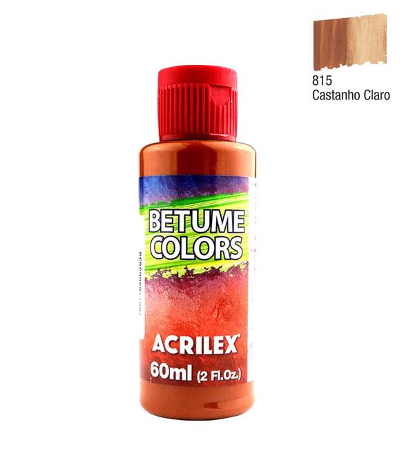 Betume Colors Acrilex Castanho Claro