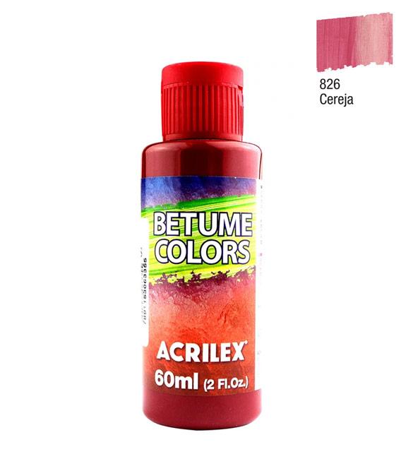 Betume Colors Acrilex Cereja