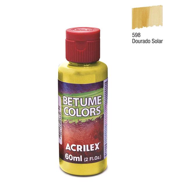 Betume Colors Acrilex Dourado Solar