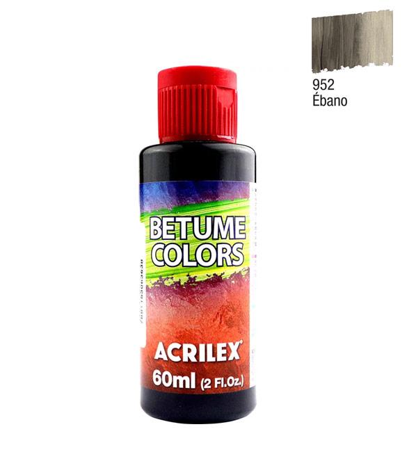 Betume Colors Acrilex Ébano