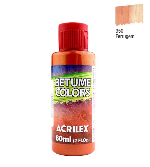 Betume Colors Acrilex Ferrugem