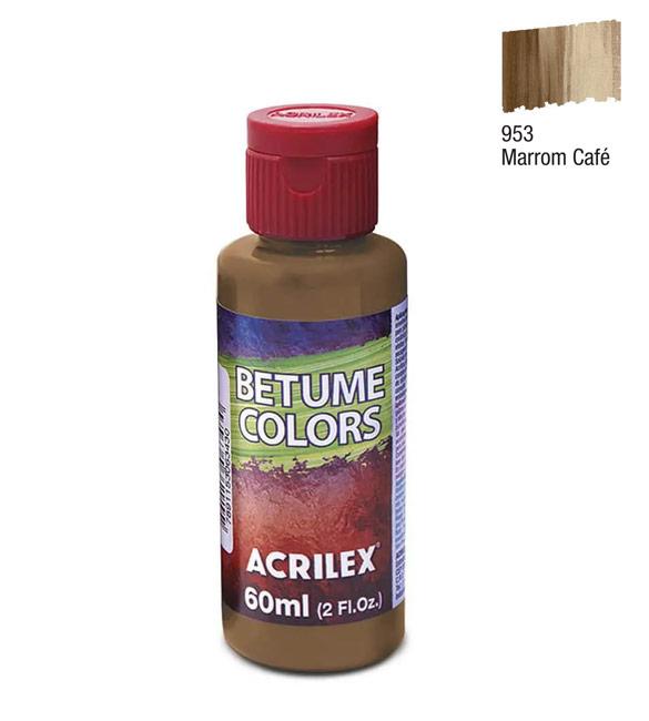Betume Colors Acrilex Marron Café