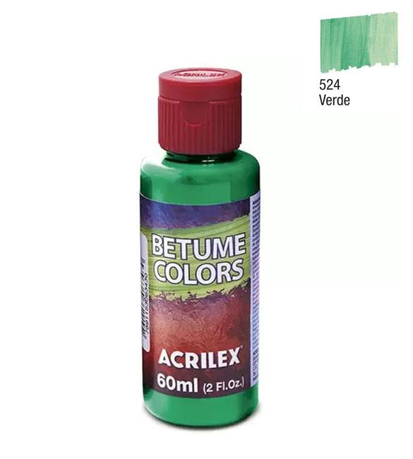 Betume Colors Acrilex Verde