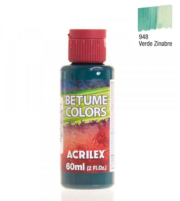 Betume Colors Acrilex Verde Zinabre