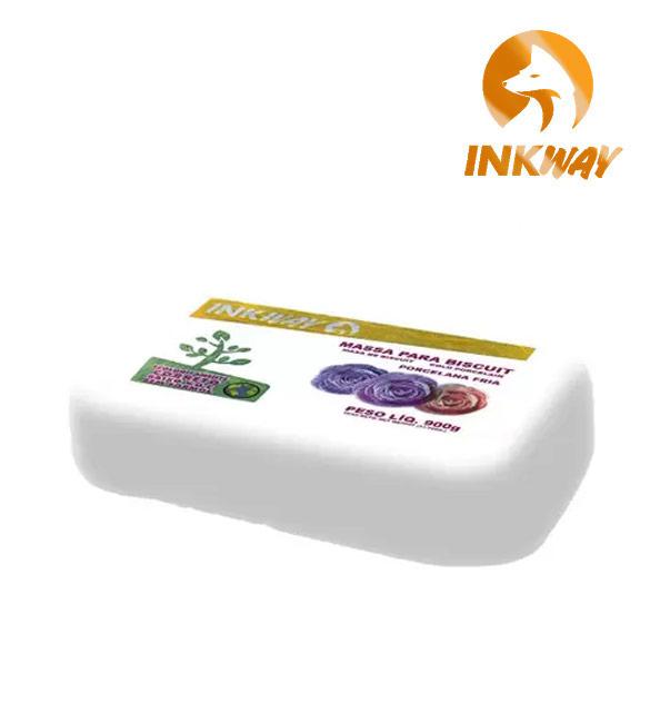 Massa Biscuit Branca InkWay - 900g