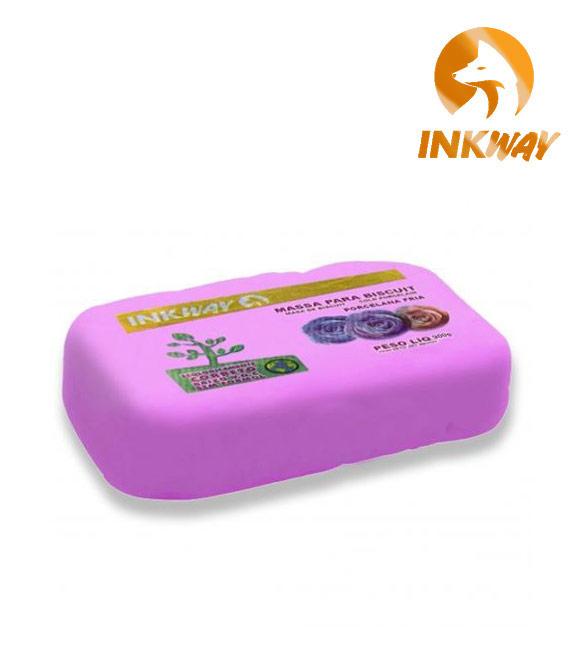 Massa Biscuit Rosa InkWay - 85g