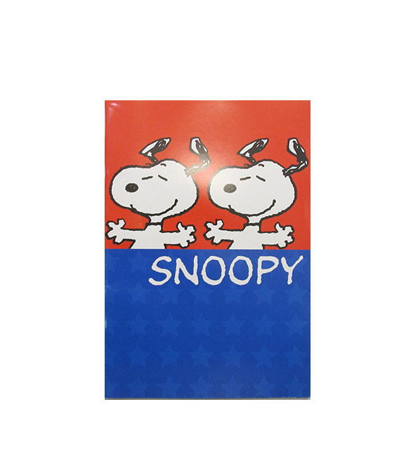 Caderno Pautado A5 Snoopy Star