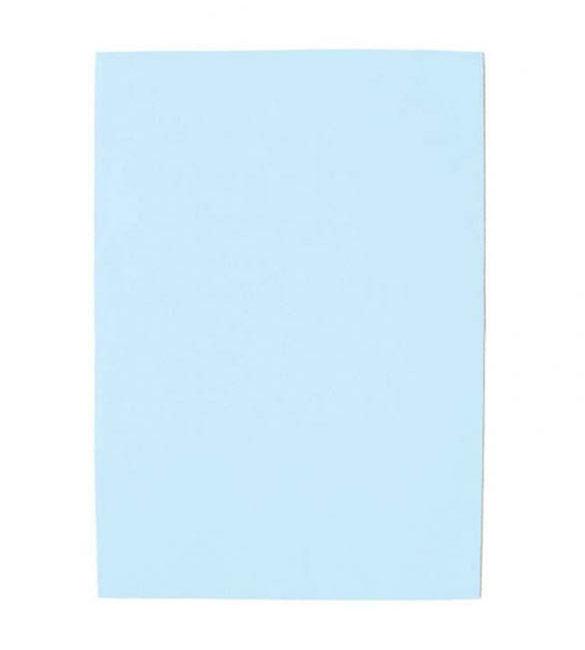 Pack 10 Cartolinas Azul Céu A4
