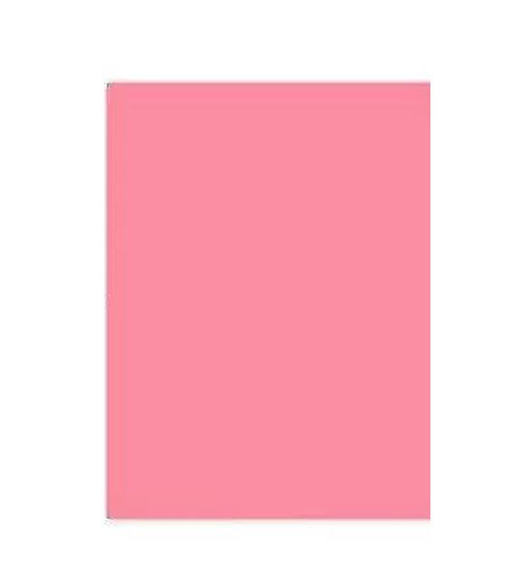 Pack 10 Cartolinas Rosa Chiclete A4
