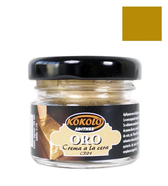 Cera Creme Ouro Kokolo-Cr01