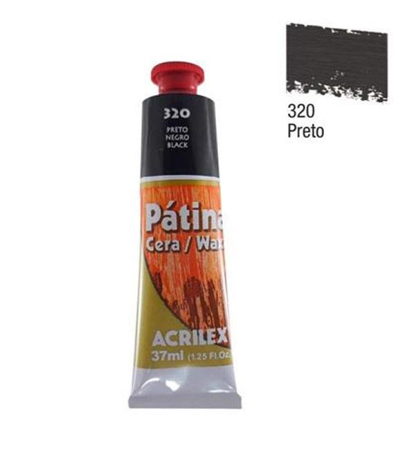Pátina Acrilex Preto 320