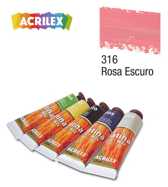 Pátina Acrilex Rosa Escuro