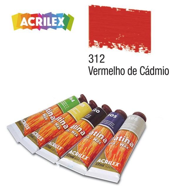 Pátina Acrilex Vermelho Cádmio