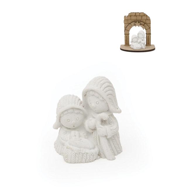 Mini Sagrada família 3.3cm