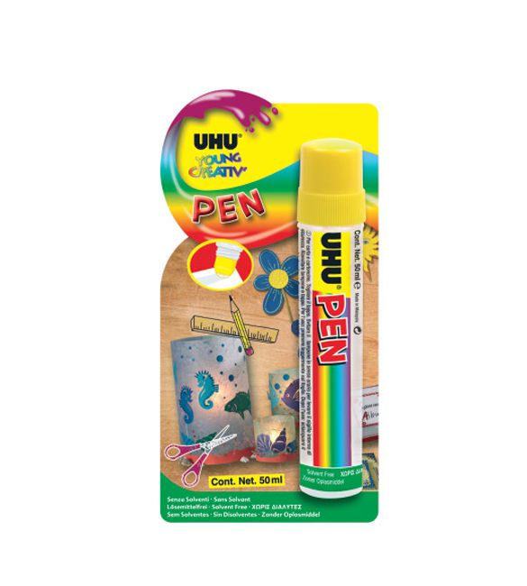 UHU YOUNG CREATIV PEN 50 ML