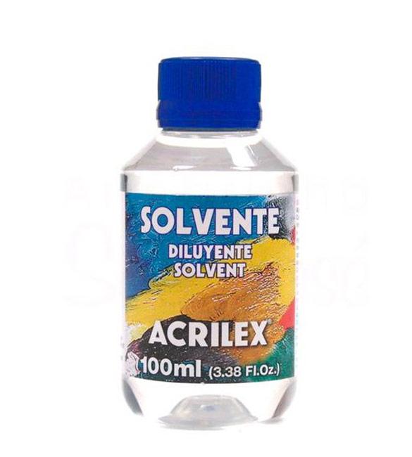 Diluente Solvente Acrilex - 100ml