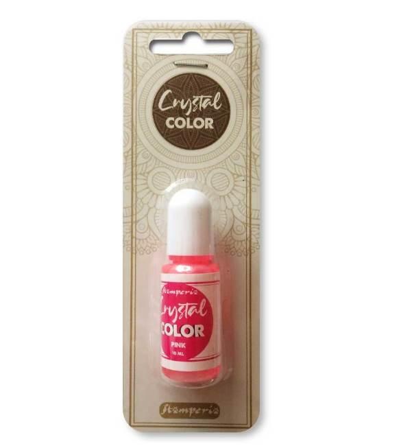 Crystal Color rosa Stamperia