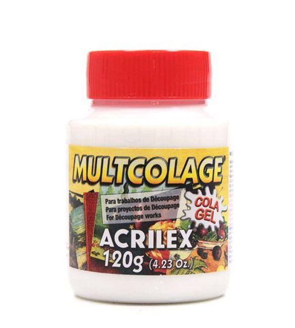 Cola Acrilex Multcolage 120g