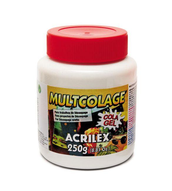 Cola Acrilex Multcolage 250g