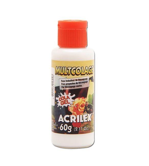 Cola Acrilex Multcolage 60g