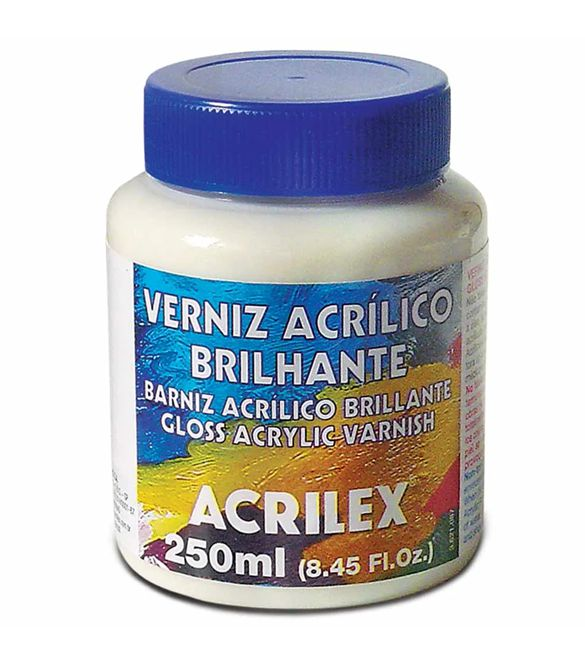 Verniz Acrílico Brilhante 250ml