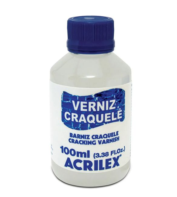 Verniz Craquelê - Acrilex