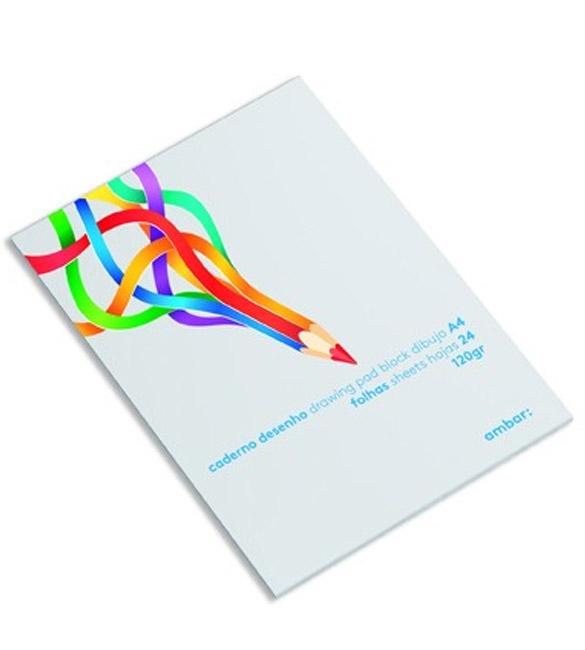 Caderno de Desenho A3 120g